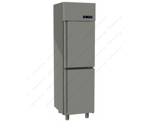 Επαγγελματικό Ψυγείο Θάλαμος-Συντήρηση Διπλή Πόρτα Slim Line 455 Lt GINOX Ελλάδος