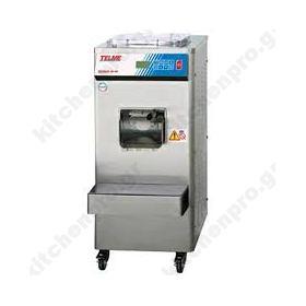 Προγραμματιζόμενη Μηχανή Παραγωγής Παγωτού 60 Λίτρων TELME Ιταλίας Σειρά ECOGEL