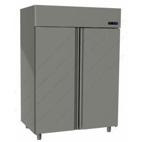 Όρθιο Ψυγείο Κατάψυξη με 2 Πόρτες 0°C/-18°C GINOX