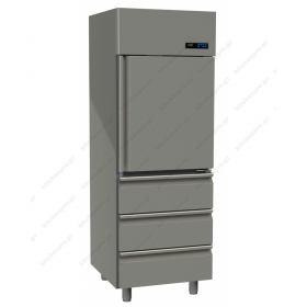 Επαγγελματικό Ψυγείο Θάλαμος Συντήρηση Πόρτα & 3 Συρτάρια -2°C/+5ºC