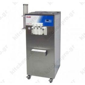 Μηχανή SOFT Παγωτού 3 Γεύσεις 90% Διόγκωση TELME Ιταλίας Σειρά SOFTGEL 3480P