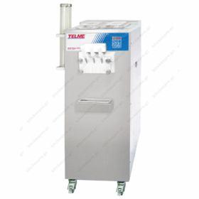 Μηχανή SOFT Παγωτού 3 Γεύσεις 90% Διόγκωση TELME Ιταλίας Σειρά SOFTGEL 336P