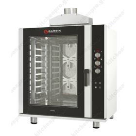 Επαγγελματικός Φούρνος Convection Αρτοποιείας & Ζαχαροπλαστικής, Αερίου 10 Ταψιά 40x60 GARBIN Ιταλίας G|PRO 10A GAS