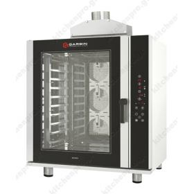 Προγραμματιζόμενος φούρνος Convection (Θερμού αέρα) με υγρασία 6 ταψιά 40x60 GARBIN Ιταλίας G|PRO 6D GAS