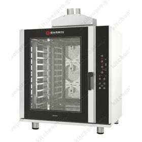 Προγραμματιζόμενος φούρνος Convection (Θερμού αέρα) με υγρασία 10 ταψιά 40x60 GARBIN Ιταλίας G|PRO 10D GAS
