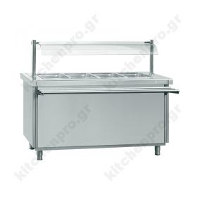 Bain Marie Self Service 4GN 1/1 INFRICO Ισπανίας