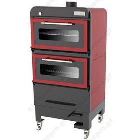Φούρνος Ξυλοκάρβουνο για 160 Κουβέρ RED MOVILFRIT Ισπανίας