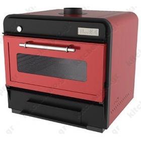 Φούρνος Ξυλοκάρβουνο για 90 Κουβέρ RED MOVILFRIT Ισπανίας