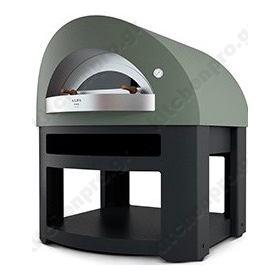 Χειροποίητος Θολωτός Φούρνος Πίτσας Αερίου & Ξύλου 7 Πίτσες 35 εκ OPERA, ALFA Ιταλίας