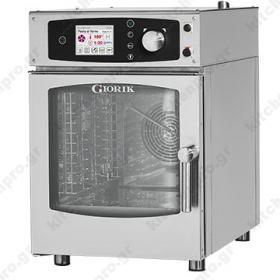 Αυτόματος Προγραμματιζόμενος Φούρνος Ατμού Αέρα (Combi Steamer) Αερίου 6GN 1/1 GIORIK Ιταλίας