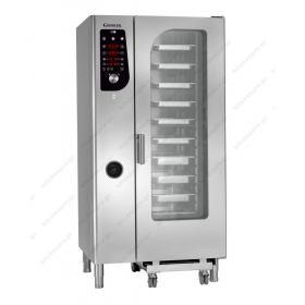 Προγραμματιζόμενος Φούρνος Ατμού Αέρα (Combi Steamer) Αερίου 20GN 1/1 GIORIK Ιταλίας