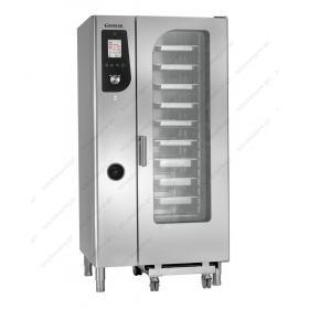 Αυτόματος Προγραμματιζόμενος Φούρνος Ατμού Αέρα (Combi Steamer) Αερίου 20GN 1/1 GIORIK Ιταλίας