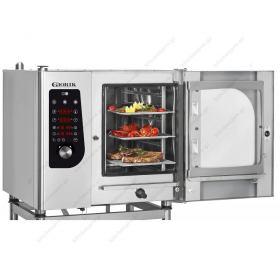 Προγραμματιζόμενος Φούρνος Ατμού Αέρα (Combi Steamer) Αερίου 6GN 1/1 GIORIK Ιταλίας