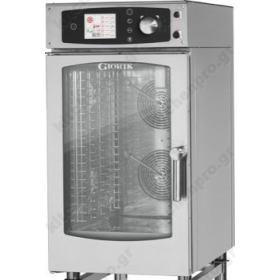 Αυτόματος Προγραμματιζόμενος Φούρνος Ατμού Αέρα (Combi Steamer) Αερίου 10GN 1/1 GIORIK Ιταλίας