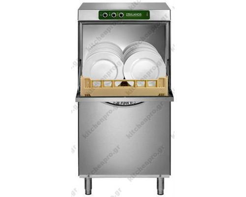 Επαγγελματικό Πλυντήριο Ποτηριών και Πιάτων καλάθι 50x50 εκ. 123 εκ υψος. E80 ECO PB M230 SILANOS Ιταλίας