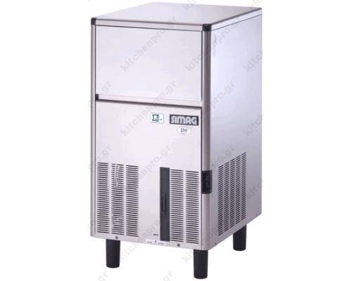 Μηχανή παγοκύβων ψεκασμού 42Kg SCN 45 SIMAG Ιταλίας
