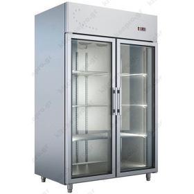 Όρθιο Ψυγείο Θάλαμος Συντήρηση με Κρυστάλλινες Πόρτες 0ºC/+10ºC