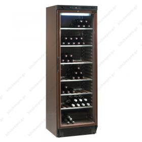 Επαγγελματικό Ψυγείο Συντήρηση & Προβολής Κρασιών 372 Λίτρα TEFCOLD Δανίας CPV 1380M