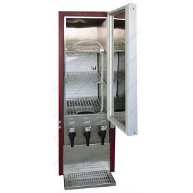 Επαγγελματικό Ψυγείο Συντήρηση Κρασιών για ασκούς  3x10 Lt TEFCOLD Δανίας