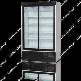 Βιτρίνα Συντήρηση Μπουκαλιών & Γενικής Χρήσης 660 Λίτρα TEFCOLD Δανίας FS1202S