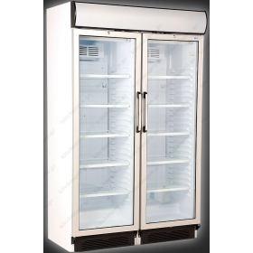 Επαγγελματικό Ψυγείο Βιτρίνα Αναψυκτικών 119 εκ Πλάτος x 198 Ύψος UGUR 748 DIKL