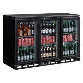 Ψυγείο Βιτρίνα Συντήρησης Μπουκαλιών 136 εκ Πλάτος x 87 εκ Ύψος Back Bar TEFCOLD Δανίας DB200H