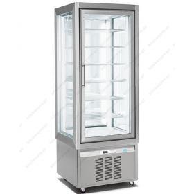 Επαγγελματικό Ψυγείο Βιτρίνα Συντήρηση Γλυκών - Ζαχαροπλαστικής 70x65x190 εκ. LONGONI 3702 Ιταλίας