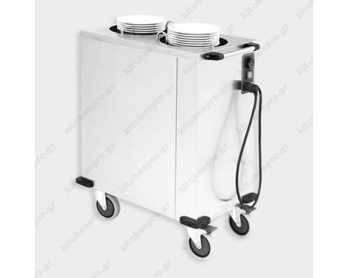 Tροχήλατο Ανοξείδωτο Dispenser Πιάτων 24-32 εκ. BIOKAN Ελλάδος