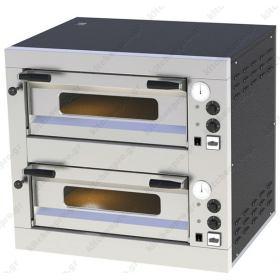 Διώροφος Φούρνος Πίτσας Ηλεκτρικός για 8 Πίτσες 33 εκ E-8 RM GASTRO ΤΣΕΧΙΑΣ