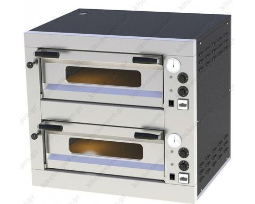 Φούρνος Πίτσας Ηλεκτρικός 8 Πίτσες 33 εκ. E-8 RM GASTRO Τσεχίας