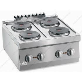Επιτραπέζια Κουζίνα 4 Εστιών 60x60 εκ ATA srl Ιταλίας