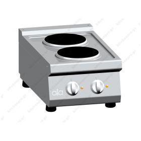 Επιτραπέζια Κουζίνα 2 Εστιών 40x70 εκ ATA srl Ιταλίας