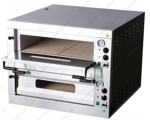 Φούρνος Πίτσας Ηλεκτρικός για 12 Πίτσες 33 εκ. E-12L RM GASTRO Τσεχίας
