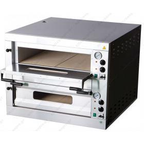 Διώροφος Φούρνος Πίτσας Ηλεκτρικός για 18 Πίτσες 131x91 εκ E-18 RM GASTRO ΤΣΕΧΙΑΣ