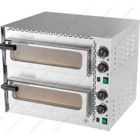 Διώροφος Φούρνος Πίτσας Ηλεκτρικός για 2 Πίτσες 35 εκ FP-68R RM GASTRO ΤΣΕΧΙΑΣ