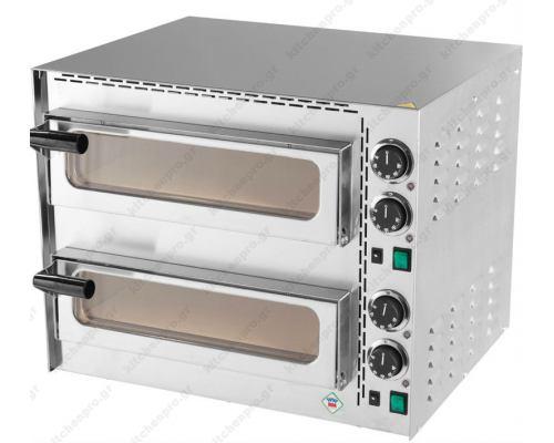 Φούρνος Πίτσας Ηλεκτρικός 2 Πίτσες 35 εκ. FP-68R RM GASTRO Τσεχίας