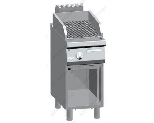 Επαγγελματικό Grill Αερίου Μονό 40 x 90 εκ. K4GPLP05VVP ATA srl Ιταλίας