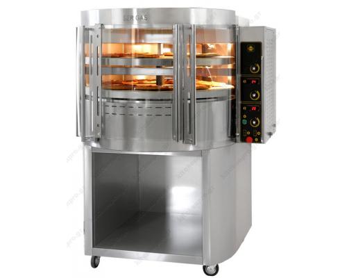 Φούρνος Πίτσας Περιστρεφόμενος για 14 Πίτσες RP2 SERGAS Ελλάδας
