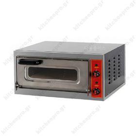 Φούρνος Πίτσας Ηλεκτρικός για 1 Πίτσα 40χ40 εκ MICRO GGF Ιταλίας