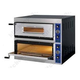 Φούρνος Πίτσας Ηλεκτρικός για 12 Πίτσες 32x32 εκ GGF Ιταλίας