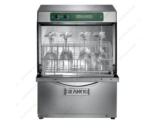 Επαγγελματικό Πλυντήριο Ποτηριών και Πιάτων καλάθι 35x35 εκ. PS G35-20-B SILANOS Ιταλίας