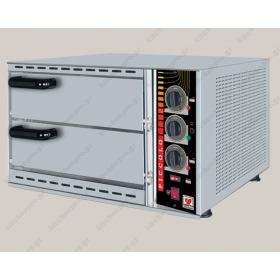 Διώροφος φούρνος Πίτσας Ηλεκτρικός για 2 Πίτσες 36 εκ. NORTH SPM 48