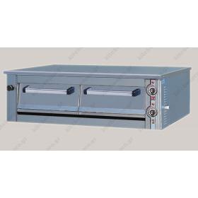 Φούρνος Πίτσας Ηλεκτρικός για 6 Πίτσες 36 εκ. NORTH F135