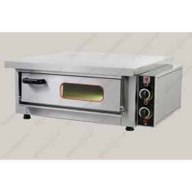 Φούρνος Πίτσας Ηλεκτρικός για 4 Πίτσες 30 εκ. NORTH F65A