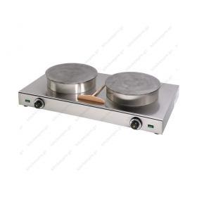 Ηλεκτρική Κρεπιέρα με 2 Πλάκες 35εκ KE2X35 SERGAS