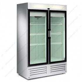 Επαγγελματικό Ψυγείο Βιτρίνα Αναψυκτικών Συντήρηση και Κατάψυξη 73 εκ Πλάτος x 208 εκ Ύψος TENSAI Πορτογαλίας, τύπος CVL120PV