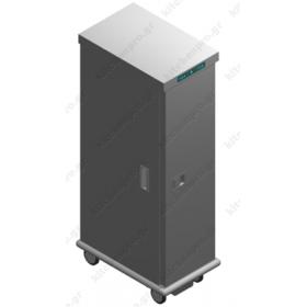 Τροχήλατος Θερμοθάλαμος 25 GN1/1 με Υγρασία CA26GN1/1R EMAINOX Ιταλίας