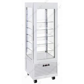 Επαγγελματικό Ψυγείο Βιτρίνα Συντήρηση Γλυκών - Ζαχαροπλαστικής 60x64.5x185 εκ. RD600 ROLLERGRILL Γαλλίας