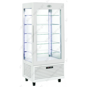 Επαγγελματικό Ψυγείο Βιτρίνα Συντήρηση Γλυκών - Ζαχαροπλαστικής 80x64.5x185 εκ. RD800 ROLLERGRILL Γαλλίας