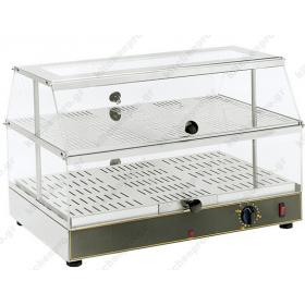 Επιτραπέζια Θερμαινόμενη Βιτρίνα 59x35 εκ. WD200 ROLLERGRILL Γαλλίας